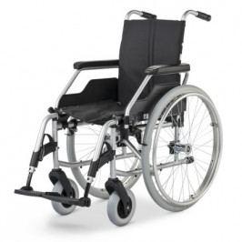 Vozík mechanický Basic FORMAT 3940, šíře sedu 43 cm, přítlačné brzdy