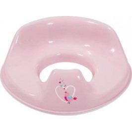 Tréninkové sedátko na toaletu Bébé-Jou Sweet Birds růžový