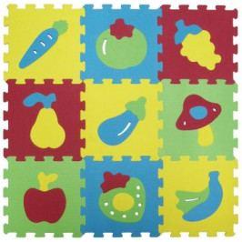 Puzzle pěnové 84x84 cm ovoce a zelenina