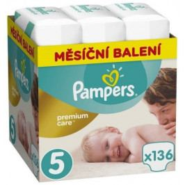 Pampers Premium Monthly Box S5 136ks