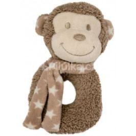 Bo Jungle plyšové chrastítko Monkey
