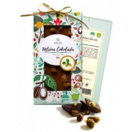 BIO Mléčná čokoláda Naturalis s moruší bílou 80g