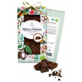 BIO Mléčná čokoláda Naturalis s kakaovými boby 80g