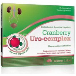 Olimp Cranberry uro complex - brusinka 15 kapslí