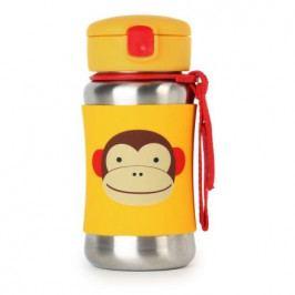 SKIP HOP Zoo Láhev na vodu,nerez Opička