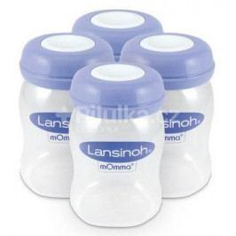Lansinoh zásobníky na uskladnění mateřského mléka 4ks