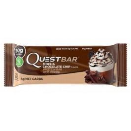 Quest Nutrition, Quest Bar, 60 g, Mocha Chocolate chip