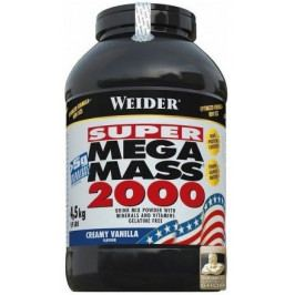 Weider, SUPER Mega Mass 2000, Gainer, 4500 g, Vanilka