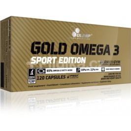 Gold Omega 3 Sport Edition, 120 kapslí, Olimp