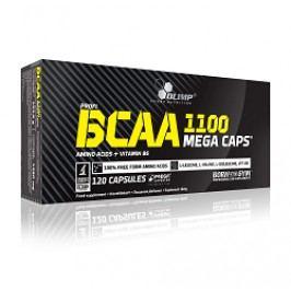 BCAA Mega Caps 1100, Olimp, 120 kapslí