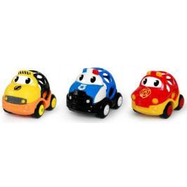 Hračka záchranná vozidla Dan, Ben a Zac Oball Go Grippers™ 3ks, 18m+