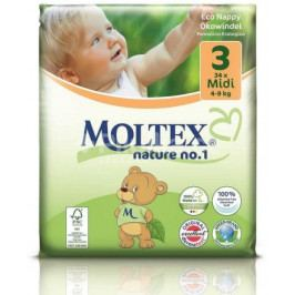 Plenky Moltex nature no. 1 Midi 4 - 9 kg  (34 ks)