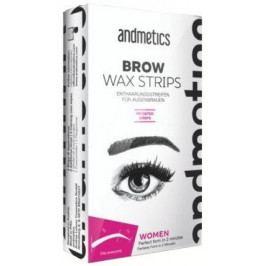 andmetics Brow Wax Strips Women