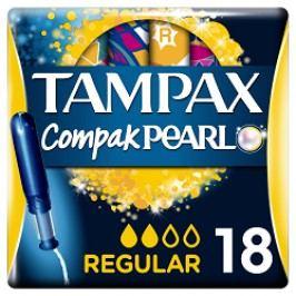 Tampax tampony Compak Pearl Regular 18ks