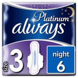 Always vložky Ultra Platinum Night 7ks