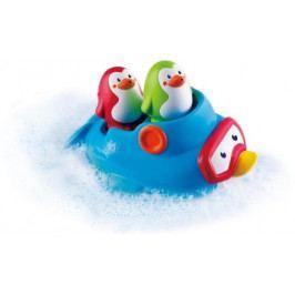 Tučňáci ve člunu