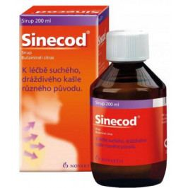 Sinecod 1.5mg/ml sir. 1x200ml/300mg