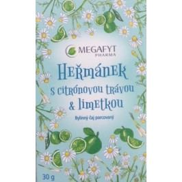Megafyt Heřmánek s citr.trávou&limetkou 20x1.5g