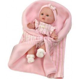 Luxusní dětská panenka-miminko Berbesa Sandra 34cm