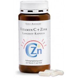 Sanct Bernhard Vitamin C + Zinek postupné uvolňování 180 kapslí
