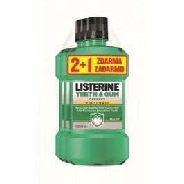 LISTERINE TEETH & GUM DEFENCE 500ml 2+1