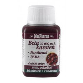 MedPharma Beta karot.10.000 m.j.Panth.+PABA tob.37