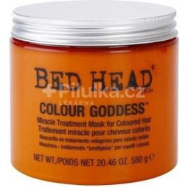 TIGI Bed Head Colour Goddess Miracle Treatment Mask Maska pro barvené vlasy 580 g