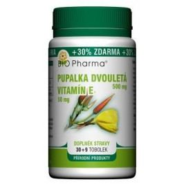 Pupalka 500mg+Vit.E 50mg 30+9 Bio-pharma