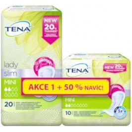 TENA Lady Slim Mini +50% navíc