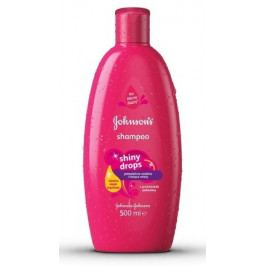 JOHNSONS Shiny Drops šampon 500 ml