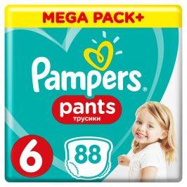 Pampers Pants S6 88ks, 15+kg