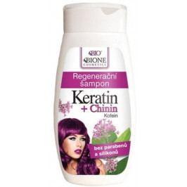 BIO KERATIN + CHININ regenerační šampon 260ml