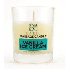 Masážní svíčka vanilka 100 ml