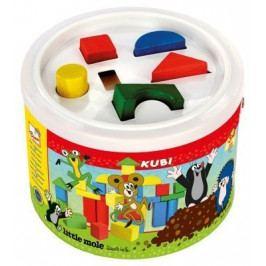Kostky v kbelíku - Krtek