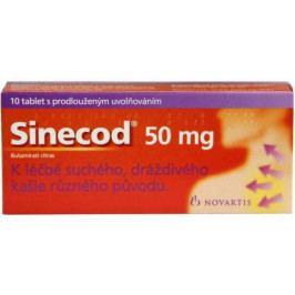 Sinecod 50mg tbl.pro. 10x50mg