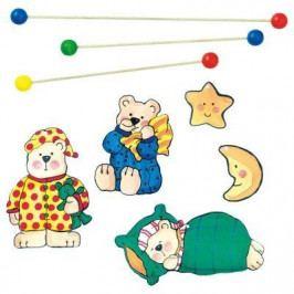 Závěsný kolotoč -spící medvědi