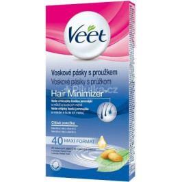 VEET Studené vosk. pásky pro citlivou pokožku 40 ks