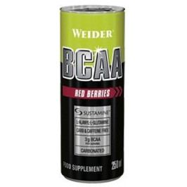 Weider BCAA  drink, Red Berries, 250 ml