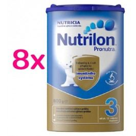 Nutrilon 3 Bez příchuti 8x 800g 12M