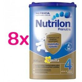 Nutrilon 4 Vanilka 8x 800g