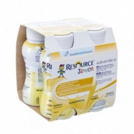Resource Junior Fibre Vanilka por.sol.4x200ml