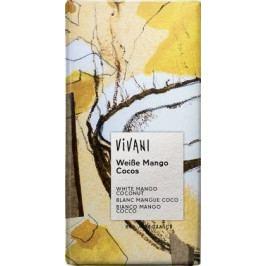 EG bílá čokoláda mango a kokos VIVANI 100g-BIO