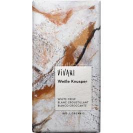 Bílá křupavá čokoláda VIVANI 100g - BIO