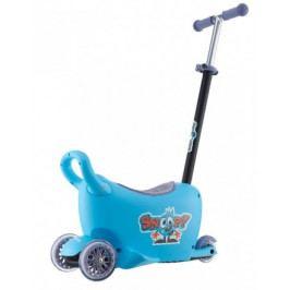 Dětské odrážedlo s vodící tyčí Snoop 3v1 Milly Mally blue