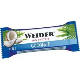 Weider, 20% protein bar, 35g, coconut