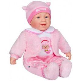Česky mluvící a zpívající dětská panenka PlayTo Nelinka 46 cm