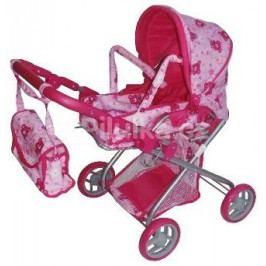 Hluboký kočárek pro panenky Baby Mix