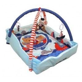 Hrací deka Baby Mix medvídek námořník