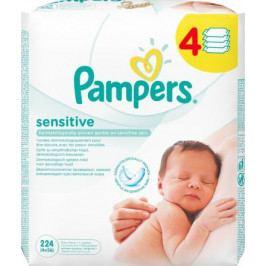 Ubrousky čistící Pampers Sensitive 4x56ks