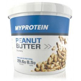 MyProtein Arašídové máslo 1000g crunchy